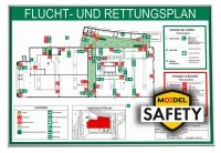 MOEDEL SAFETY MADRID Silver Line Frame ~DIN A3 quer