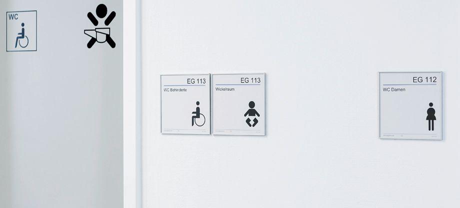 Türbeschilderung Büro Modellreihe MADRID