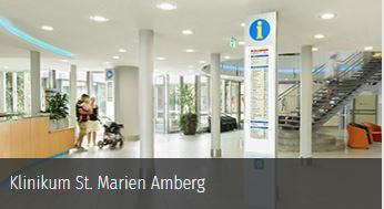 Innenaufsteller für das Krankenhaus