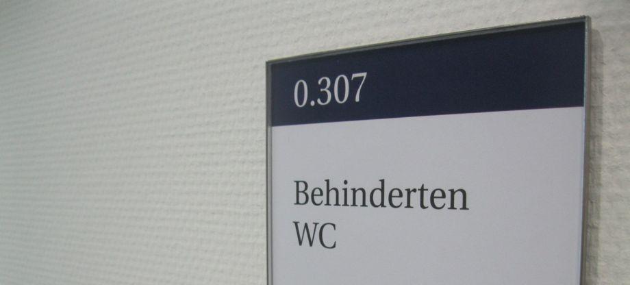 Türbeschilderung Büro Modellreihe RIO