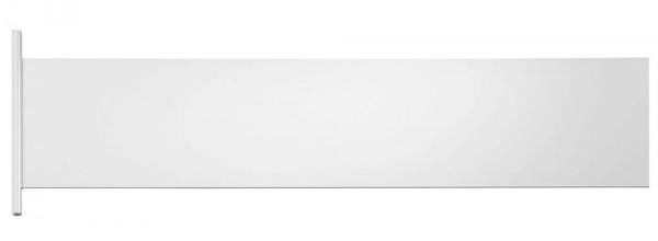 CITY-GUIDE Paneel, Aluminium lackiert, 15 x 65 cm