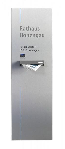 RIO Briefkastenstele 200 x 73 cm
