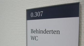 Türschilder Büro (austauschbar) Moedel Modell RIO