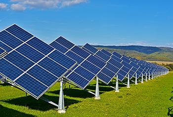 Photovoltaik Projekt in Indien
