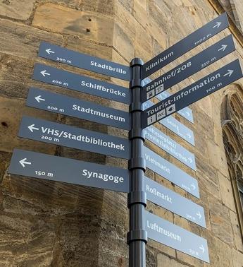 Touristisches Leitsystem Referenz
