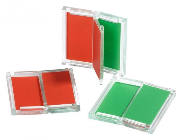 Universelle Frei-/Belegt Anzeige PMMA, 4,6x4,6 cm