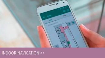 Indoor Navigation für Leitsysteme Gebäude