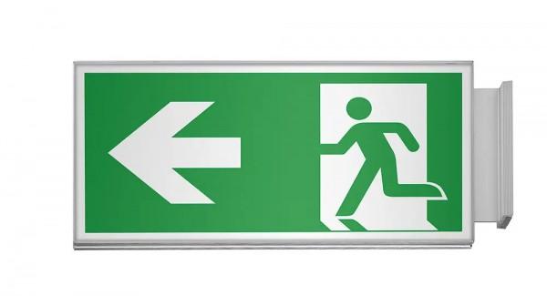 RIO Fahnenschild Fluchtweg, 14,9 x 29,9 cm