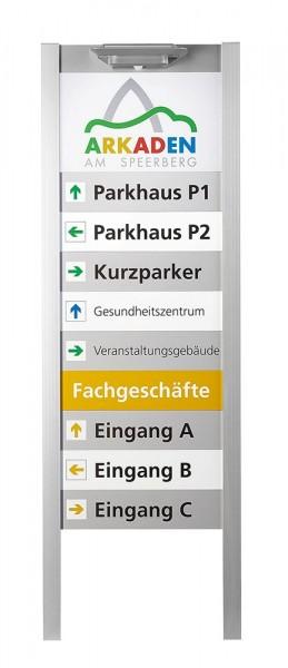 BERLIN Multifix 45 Profil für Außenaufsteller